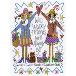 Wacky Friends Cross Stitch Pattern