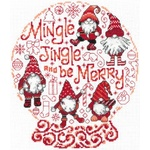 Let's Mingle & Jingle Cross Stitch Pattern