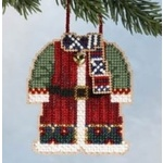 Mill Hill Santa's Coat - Beaded Cross Stitch Ornament Kit
