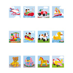 Tapestry Collection D'Art 11.448 Kid's Mini Tapestries