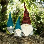 Class - Knitted 'Never Not Gnoming' Gnome