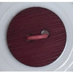 Button - 14mm Burgundy Round