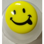 Button - Smiley Face Button Large