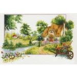 Needleart World - Summer Cottage No-count Cross Stitch 640.046