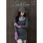 Sublime Snood and Wristwarmers 6112