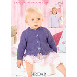 Snuggly Pearls DK Flat Collar and Round Neck Jackets 4545