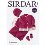4939 - Coat, Hat, Bootees & Blanket in Sirdar Snuggly 4 Ply Pattern