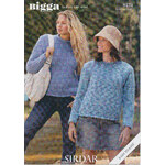 Sirdar Bigga Round Neck Sweater 8474