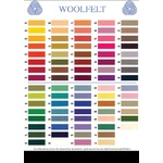 Wool Felt - 20 x 30cm Solid Colours