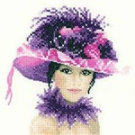 Elegance Miniatures - Sophia Counted Cross Stitch