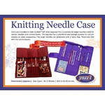 Knitting Needle Case Purple CA190P