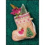 Gingerbread Mouse Fairy Stocking