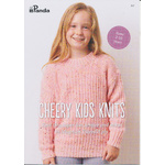 Cheery Kids Knits in Panda Magnum Tweed 8 Ply 817