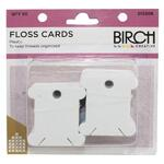 Floss Cards 50 pcs Plastic