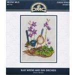 Blue Wrens and Sun Orchids Kit - 587105