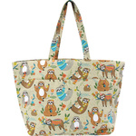 Sloth Design Drawstring Bag