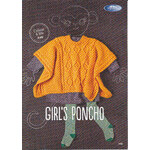 Girl's Poncho Shepherd Colour 4 Me 8 Ply - 5408