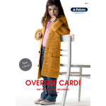 Kids Oversize Cardi in Patons Jet 12 Ply - 0033