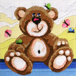 Country Threads Nursery Bear FLS-103