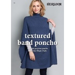 Textured Band Poncho Pattern