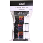 Ashford Wool Dye Rainbow Collection 50gm