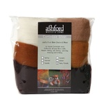 Ashford Corriedale Sliver Pack Furry Friends 100gm