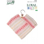 Naturally Loyal Baby Prints 4 Ply Easy Poncho