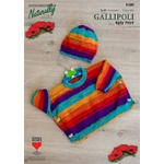 Pattern K380 - Kids Poncho & Hat