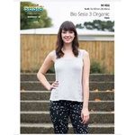 N1455 - A-Shaped Top in Bio Sesia 3 10 Ply Pattern