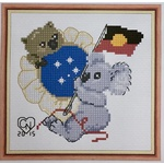 Stitching for Australia Day (#285)