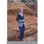 Irish Tweed Women's Two Colour Cardigan CY004