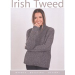 Irish Tweed Women's Alder Aran Sweater CY080
