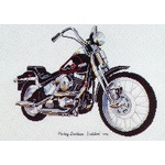 Harley Davidson - Ross Originals Cross Stitch Chart