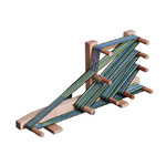 Inkle Loom includes Shuttle and clamp