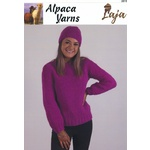 JS138 - Laja 14 Ply Cosy Jumper and Beanie 2815