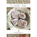 Woolly Fobs - October House Fiber Arts Cross Stitch Chart