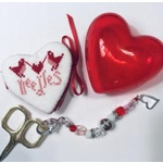 Sweetheart Etui kit from Praiseworthy Stitches - Cross Stitch Kit