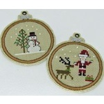 Christmas Delights - Praiseworthy Stitches - Cross Stitch Chart