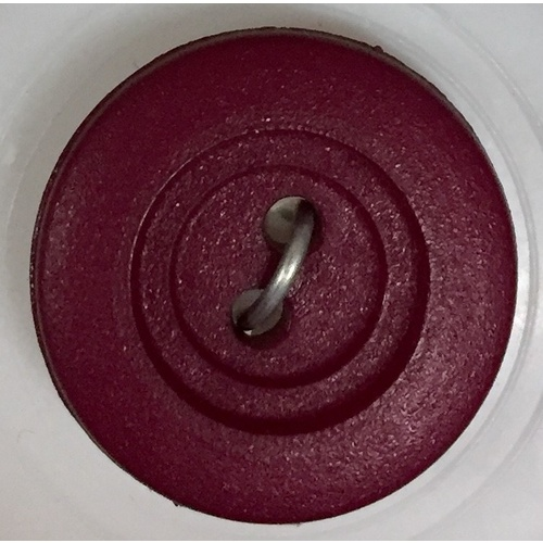 Button - 15mm Plum